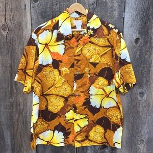 VTG 70s Keliis Tropical Hawaiian Aloha Shirt